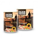 Farm Fresh - CHICKEN and HERRING with CRANBERRIES 400 g 11 + 1 ZDARMA !!