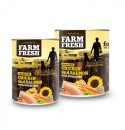 Farm Fresh - CHICKEN and SALMON with POTATOES 400 g 11 + 1 ZDARMA !!