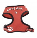 Postroj Good DOG RED RELAX vel. XS, S, M